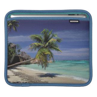 Tropical Beach, Anse Sourse D'Argent, La Digue iPad Sleeve