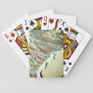 Tropical Beach Close-Up Playing Cards