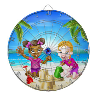 Tropical Beach Family Holiday Dartboards