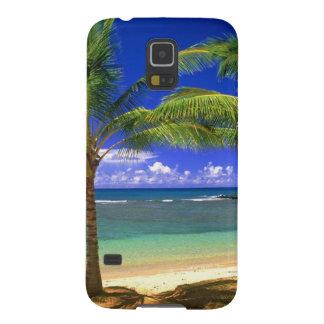 tropical beach galaxy s5 cover