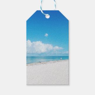Tropical Beach Gift Tags