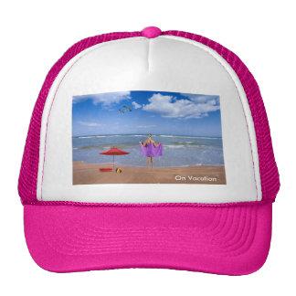 Tropical Beach image for Trucker-Hat Cap