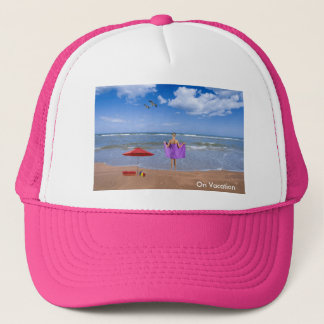 Tropical Beach image for Trucker-Hat Trucker Hat