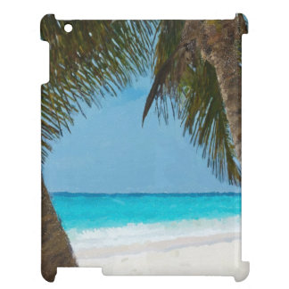 Tropical Beach iPad Covers