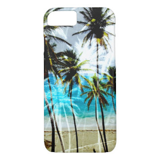 Tropical Beach Ocean Custom iPhone 7 case