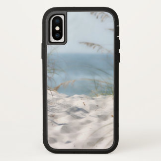 Tropical Beach Sand and Ocean View iPhone X Case