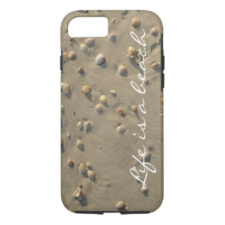 Tropical Beach Seashells iPhone 7 Case