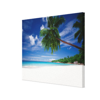 Tropical Beach | Seychelles Canvas Print