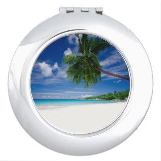 Tropical Beach | Seychelles Mirror For Makeup