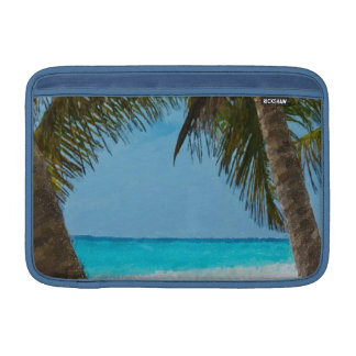 Tropical Beach Sleeve For MacBook Air