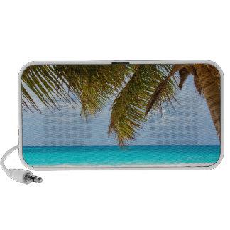 Tropical beach speaker