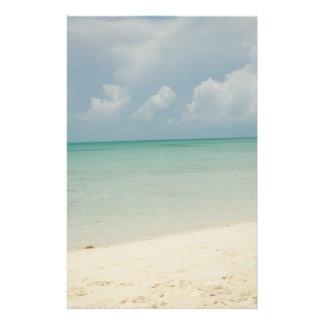 Tropical Beach Stationary Stationery