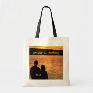 Tropical Beach Sunset Bag