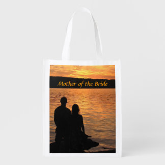 Tropical Beach Sunset Mother of the Bride Bag Market Tote