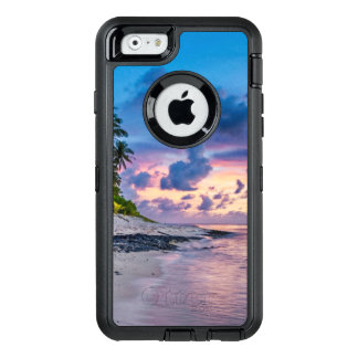 Tropical Beach Sunset OtterBox Defender iPhone Case