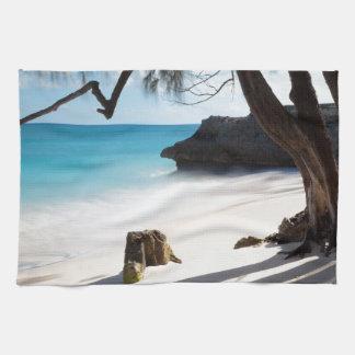 Tropical Beach Tea Towel