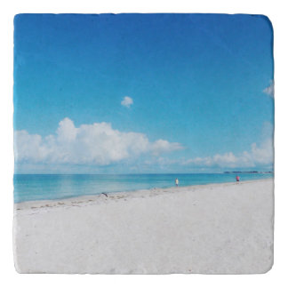 Tropical Beach Trivet