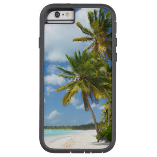 Tropical Beach Turquoise Water and Coastal Palms Tough Xtreme iPhone 6 Case