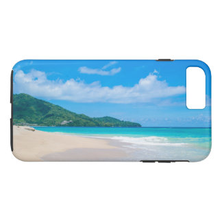 Tropical Beach, Turquoise Water, Blue Sky iPhone 8 Plus/7 Plus Case