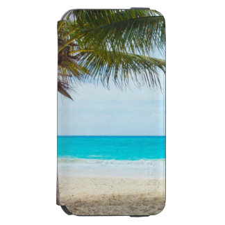 Tropical Beach Turquoise Water White Sand Incipio Watson™ iPhone 6 Wallet Case