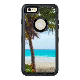 Tropical Beach Turquoise Water White Sand OtterBox Defender iPhone Case