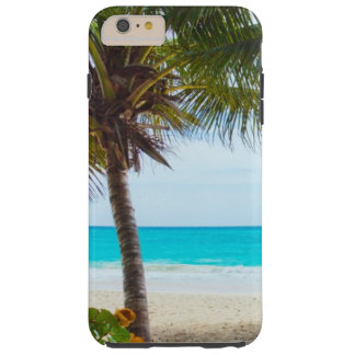 Tropical Beach Turquoise Water White Sand Tough iPhone 6 Plus Case