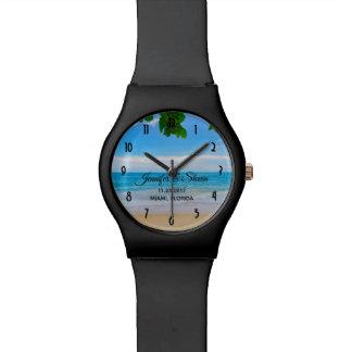 Tropical Beach Vacation Island Wedding Watch