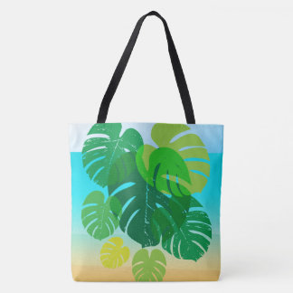 Tropical Beach Vacation Tote Bag