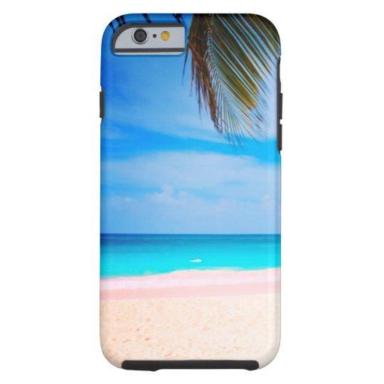 Tropical Beach View Tough iPhone 6 Case