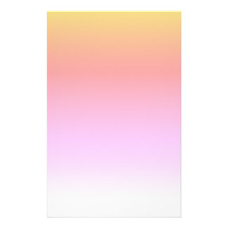 Tropical beach  watercolor stationery