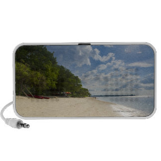 Tropical Beach With Sunrise Speaker