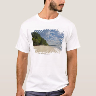 Tropical Beach With Sunrise T-Shirt