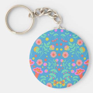 Tropical Bells Key Ring