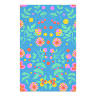 Tropical Bells Stationery