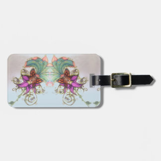 Tropical Bikini Fairy Graphics Luggage Tag