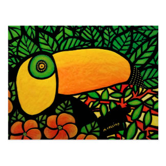 Tropical Bird Toucan Postcard