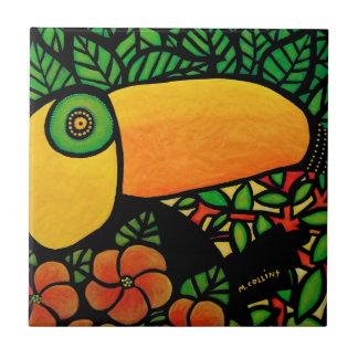 Tropical Bird Toucan Tile
