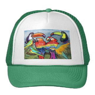 Tropical Birds Cap