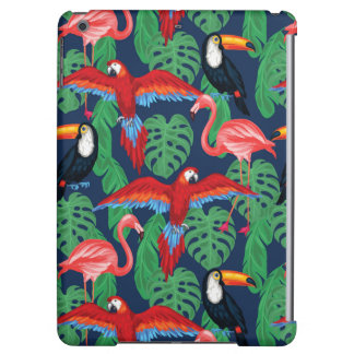 Tropical Birds In Bright Colors Case For iPad Air