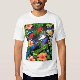 Tropical Birds of Mexico T Shirt