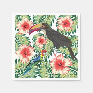 Tropical Birds of Paradise Design Series 1