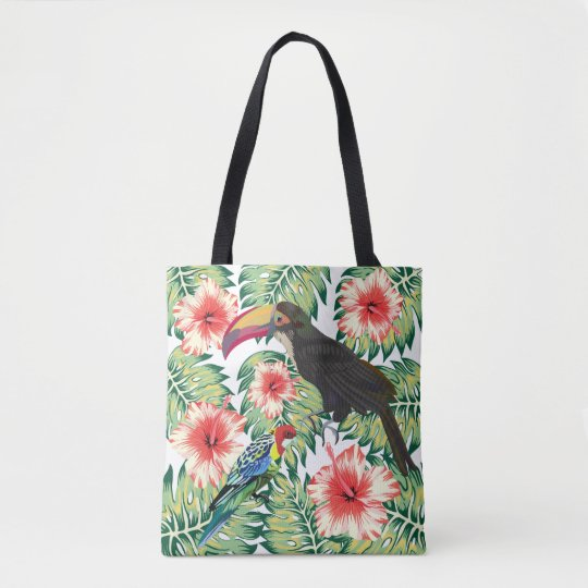 Tropical Birds of Paradise Design Series 1 Tote