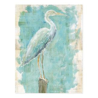 Tropical Birds   Still Egret Postcard