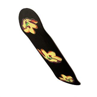 "Tropical Bloom 8 1/2"" Skateboard"