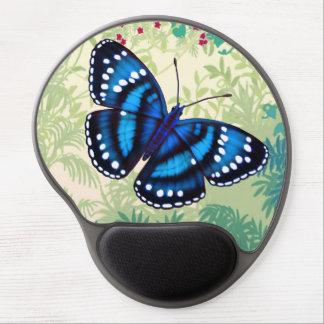 Tropical Blue Butterfly Gel Mousepad Gel Mouse Mat