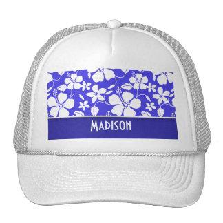 Tropical Blue Hibiscus; Cute Hats