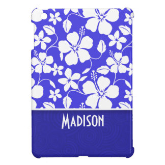 Tropical Blue Hibiscus; Cute Case For The iPad Mini