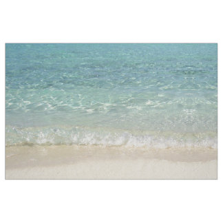Tropical Blue Ocean Water Fabric