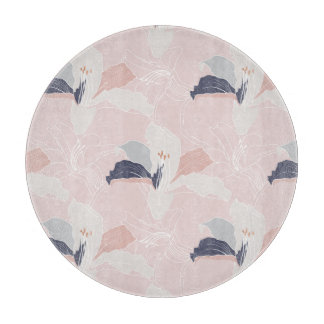 Tropical Blush Chopping Board Cutting Boards