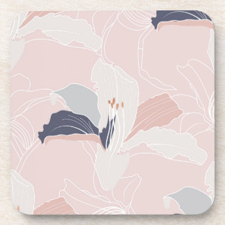 Tropical Blush Coaster Set